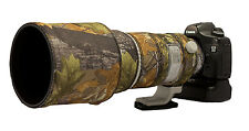 Canon 300mm f2.8 IS Mk 2 Neoprene lens camouflage cover English Oak