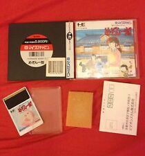 """MAISON IKKOKU """" JULIETTE JE T'AIME """" - NEC PC ENGINE HU-CARD IMPORT JAPAN"""