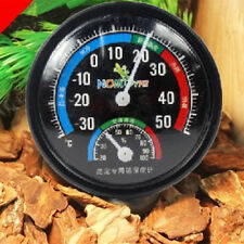Round Hygrometer Humidity Thermometer Temperature Temp Meter Gauge Indicator