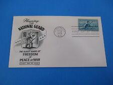 1953 Honoring the National Guard Oldest Guard of Freedom Peace or War FDC S2780