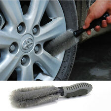 Portable Tire Brush Rim Hub Brush Cleaning Tool Kit For Auto Car Motorcycle New