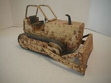 "Vintage Pressed Steel 17"" NYLINT Bulldozer with tracks"