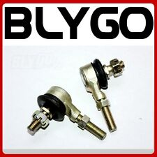 Pair 10mm Bolt Tie Rod Ends Ball Joiners 110cc 125cc Quad Dirt Bike ATV Buggy