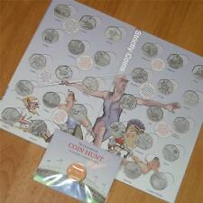 Olympic 50p SPORT ALBUM Completer Medallion Official Royal Mint Coin Hunt Folder