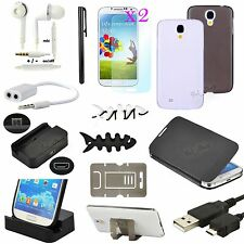 13 in 1 Accessory Bundle Kit Case Charger For Samsung Galaxy S4 SIV i9500 i9505