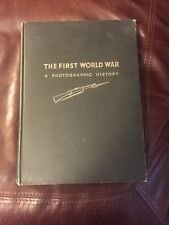 THE FIRST WORLD WAR PHOTOGRAPHIC HISTORY BOOK FROM EARL EISENHOWER ESTATE