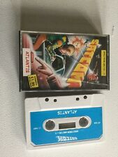 Rare Satcom Atlantis Hacking Zx Spectrum Sinclair Video Game Cassette Vtg Retro
