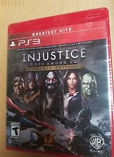 PLAYSTATION 3 PS3 RED GH GAME INJUSTICE GODS AMONG US ULTIMATE EDITION BRAND NEW