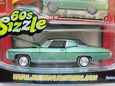 JOHNNY LIGHTNING - 60S SIZZLE - (1968) '68 CHEVY IMPALA - 1/64 DIECAST