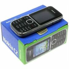 Brand New Boxed Nokia C2-01 - Black (Unlocked) Mobile Phone - Warranty UK