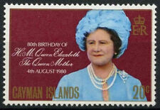 Cayman Islands 1980 Queen Mothers 80th Birthday MNH #R732