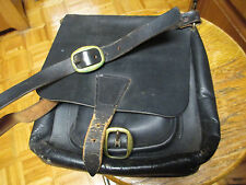 Vintage The Hudson Bay Leather Co. NYC Handbag Satchel