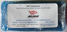 SINGLE Bar Ski/Snowboard Wax 200 gr. Each.  Available Blue only
