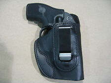Ruger LCR, LCRx Revolver Leather IWB Concealment Carry Holster CCW BLACK RH