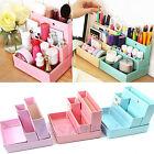 New Paper Board Storage Box Desk Decor DIY Stationery Cosmetic Makeup Organizer
