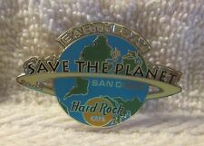 Hard Rock Cafe Pin San Diego Earth Day 2000 Globe with Save the Planet (#8324)