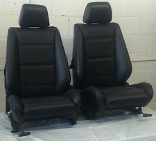 BMW e30 325i/318i Convertible Front Sport Seat Pair 1987-92 Black  $1100.00