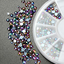 300 x Nail Art Rhinestones Acrylic Studs Craft Gems Crystal Diamonte Decoration