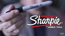 Amazing Sharpie Pen (Red) by James Paul - Trick - Magic Tricks