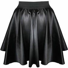 NWT GIRLS LADIES S /M SEXY MINI SKIRT GOTH TRANSVESTITE CROSSDRESSER SISSY ADULT
