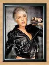 PINK The Truth About Love Signed Autographed A4 Print Poster Photo cd ticket dvd
