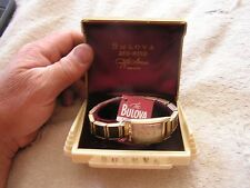 Vintage Bulova Duo Wind Watch with Original Box L1