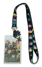 **License** Seraph of the End PVC Yuichiro Group Badge ID Holder Lanyard #37832
