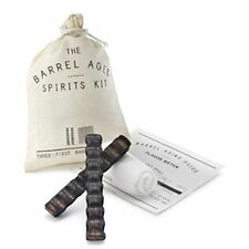 NEW Barrel Aged Spirits Kit By W&P Design Charred-Oak Barrel Staves Father's Day