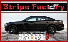 DODGE CHARGER RALLYE LETTERING REAR QUARTER STRIPE FACTORY FITS 2006 TO 2014