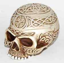 Celtic Skull Box Stash Wicca Altar Pagan Witch Craft Bones Ritual WitchCraft