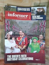 Queens 90th Birthday Celebrations edition of the Informer Magazine