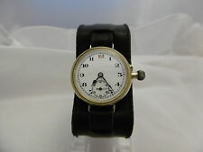VINTAGE 9CT BORGEL 1920'S CASED WATCH GREAT WORKING ORDER