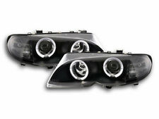 BMW 3 E46 Estate/ Sedan / Touring 2002-2005 Black Ring Angel Eyes Headlights RHD