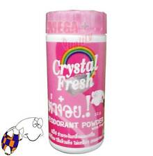 Crystal Fresh Deodorant Powder Natural Herbal with Fragrance Antiperspirant 22g