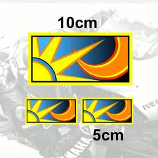 x3 Valentino Rossi Sticker SUN and MOON Vinyl Decal 2013 (V2grad)