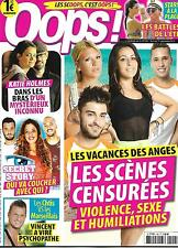 OOPS! N°199 4 SEPTEMBRE 2015  VACANCES DES ANGES/ HOLMES/ NADAL/ ROBERTS/ CYRUS