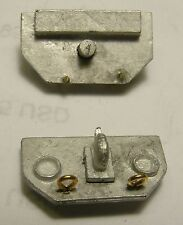 Rear Hitch With Taillights (2 pc)  For 1/48th Scale Trucks By Don Mills Models