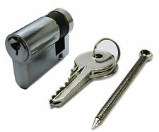 Garage Door Lock Cylinder -  40mm -  30mm/10mm - Cardale Garador Hormann Apex