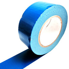 1, 50 METERS x 50mm BLUE GAFFER TAPE, CLOTH DUCK DUCT TAPES, GAFFA