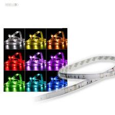 RGB LED LeuchtStreifen 1m 30 SMD LEDs STRIP IP44  12V Lichtband Multicolor