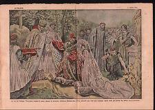 King Mieszko I Poland marriage with Princess Doubravka Bohemia 1921 ILLUSTRATION