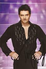STRICTLY COME DANCING: TOM CHAMBERS SIGNED 6x4 PORTRAIT PHOTO+COA