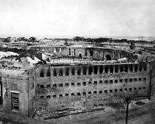 New 8x10 Civil War Photo: Damage at Fort Morgan at Mobile Point, Alabama - 1864