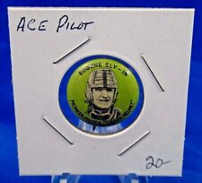 Eugene Ely-In Pioneer Pilots Crash Helmet Aviation Pin Pinback Button 13/16""