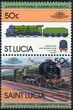 1926 SR Lord Nelson Class 4-6-0 (Southern Railway) Train Stamps / LOCO 100