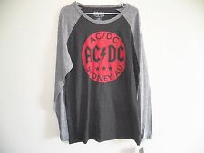 NEW AC DC SYDNEY AU CONCERT MENS SMALL RAGLAN BAND ROCK CONCERT JERSEY T-SHIRT