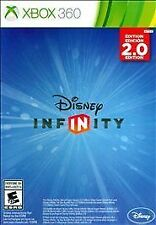 Factory Sealed Disney Infinity 2.0 GAME DISC XBOX 360 Edition - Ships Same Day