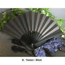 "Japanese Samurai's Last Weapon ""Tessen (Iron ribbed fan)"" Large size 30cm L."