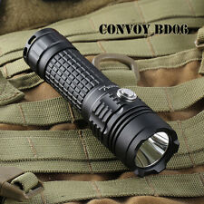 Convoy BD06 XM-L2 AMC7135x8 1000LM Rechargeable LED Flashlight