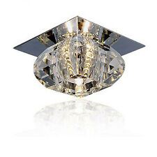 New Modern Crystal Pendant Lamp Ceiling Light Fixture Lighting LED Chandelier